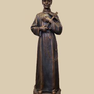 36' bronze Seelos garden statue