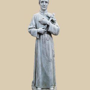 "36"" stone colored Seelos garden statue"