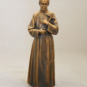 "8"" Bronze devotional statue"
