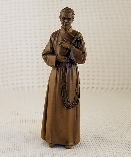 Photo of 8 1/2″ Wood-Tone Seelos Statue