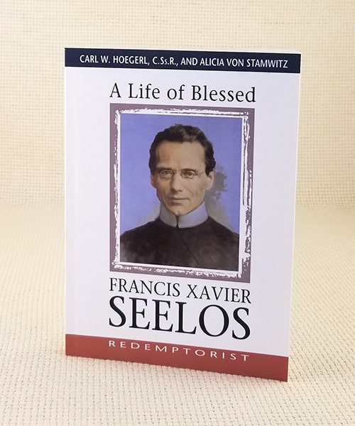 "Photo of ""A Life of Blessed Francis Xavier Seelos, Redemptorist"" Book"