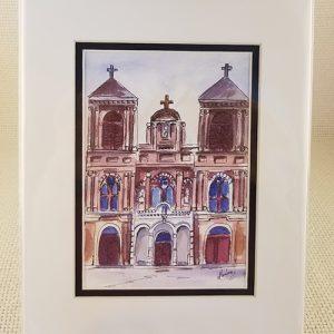 St. Alphonsus Church watercolor print