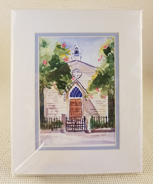 Photo of St. Mary's Chapel Watercolor Print
