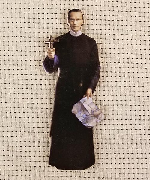 Photo of Beatification Diecut Magnet