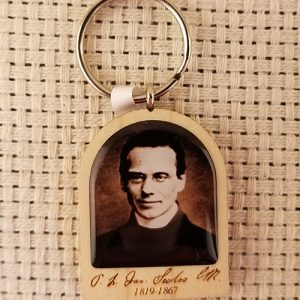 Pray for Us Keychain