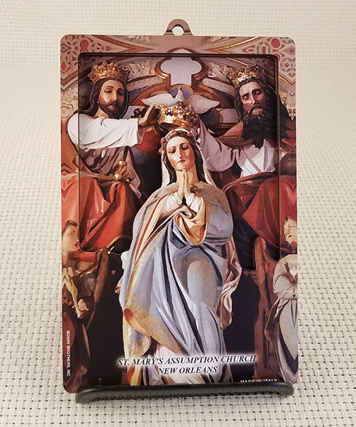 Photo of St. Mary's High Altar 3D Woodcut Wall Plaque