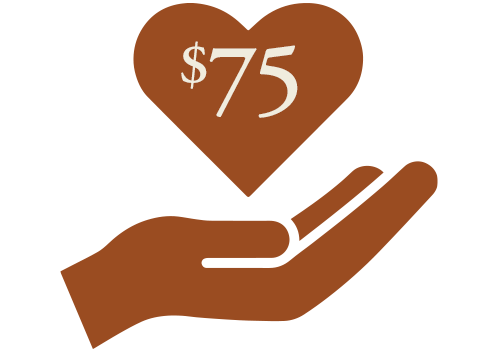 Photo of $75 Donation