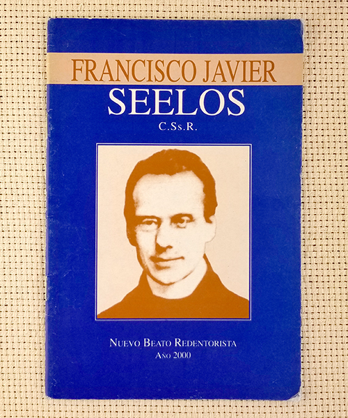 "Photo of ""Francisco Javier Seelos"" Pamphlet"