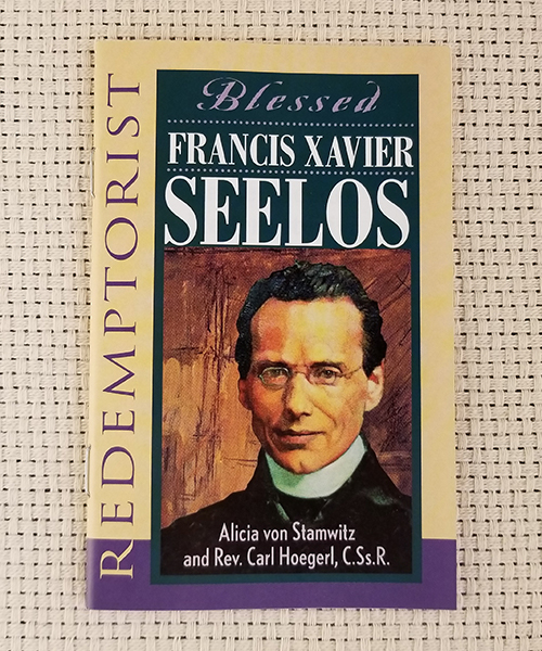 "Photo of ""Redemptorist: Blessed Francis Xavier Seelos"" Pamphlet"