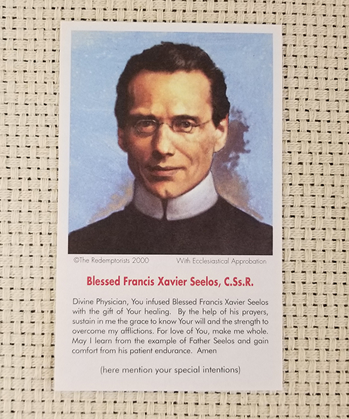 "Photo of ""Divine Physician"" Paper Prayer Card"