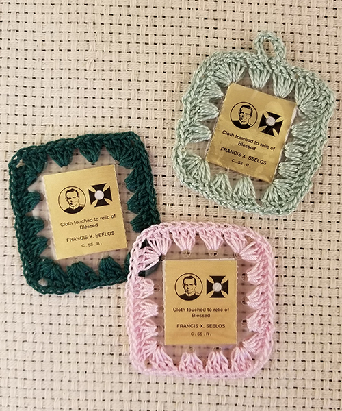 Photo of 3rd Class Relic Crocheted Scapular