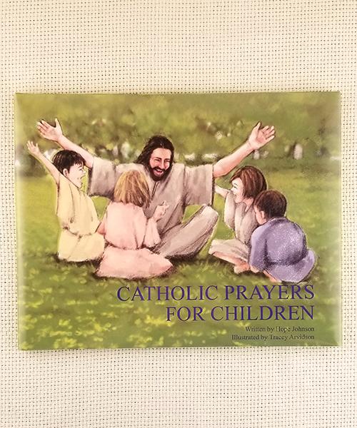 "Photo of ""Catholic Prayers for Children"" Book"