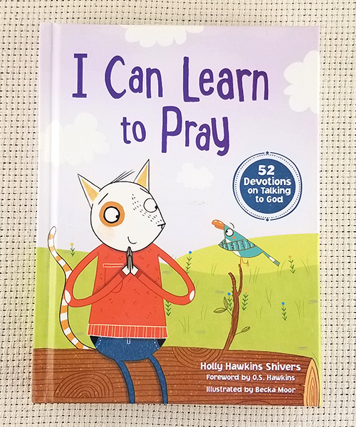 "Photo of ""I Can Learn to Pray: 52 Devotions on Talking to God"" Book"