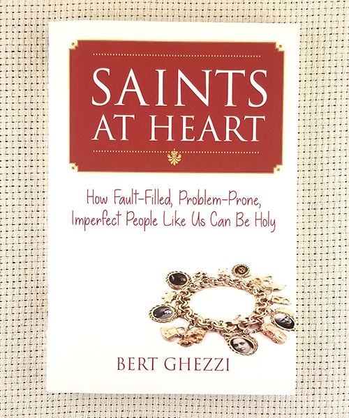 "Photo of ""Saints at the Heart: How Fault-Filled, Problem-Prone, Imperfect People Like Us Can Be Holy"" Book"