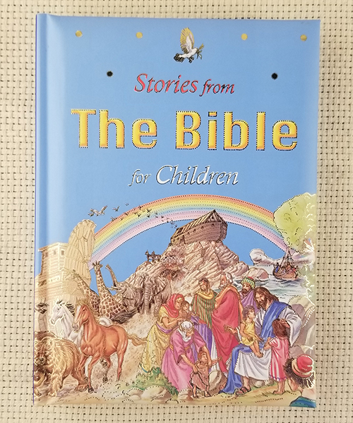 "Photo of ""Stories from the Bible for Children"" Book"