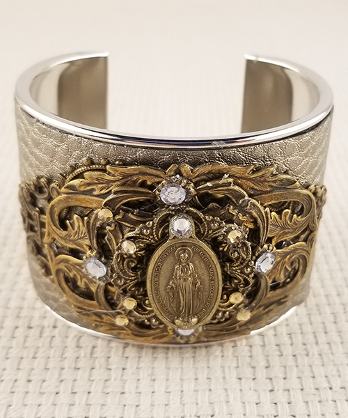 "Photo of ""Heaven Sent"" Large OMPH Cuff Bracelet"