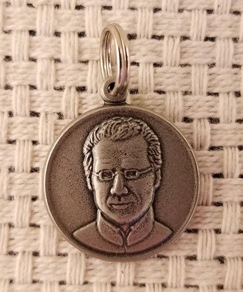 Photo of Round Nickel Seelos Medal