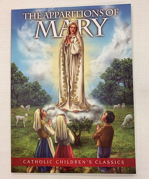"""Photo of """"The Apparitions of Mary"""" Children's Book"""