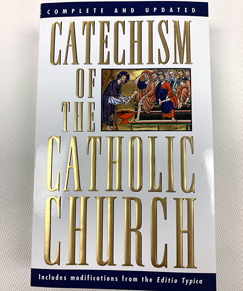 """Photo of """"Catechism of the Catholic Church"""" Book"""