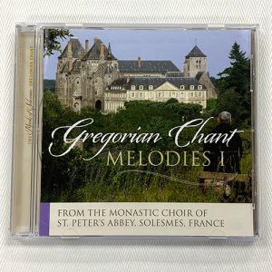 """Gregorian Chant Melodies I"" CD"