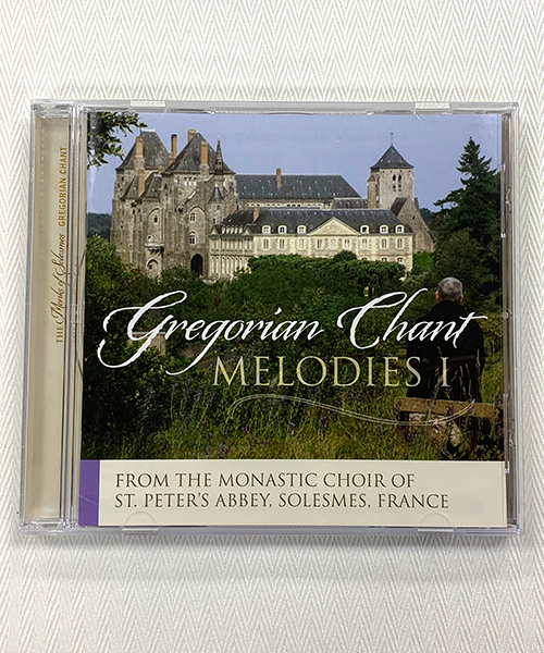"""Photo of """"Gregorian Chant Melodies I"""" CD"""