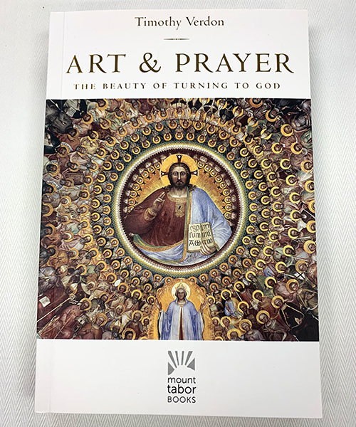 """Photo of """"Art and Prayer: The Beauty of Turning to God"""" Book"""