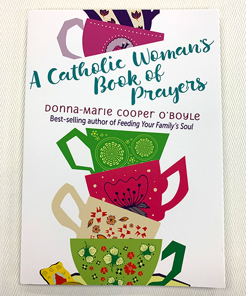 """Photo of """"A Catholic Woman's Book of Prayers"""" Book"""