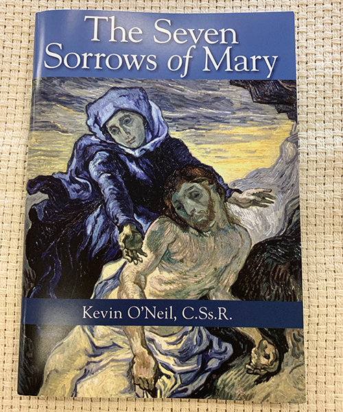 Seven Sorrows of Mary pamphlet